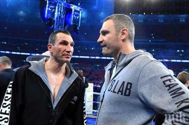 Изненада! Виталий Кличко иска да се бие с Джошуа, той попречил на брат си да спечели