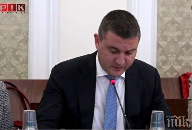 Владислав Горанов: Номиналният ръст на приходите по централния бюджет към края на септември е 1,34 млрд. лв.