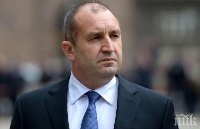 Румен Радев пристигна на официално посещение в Азербайджан