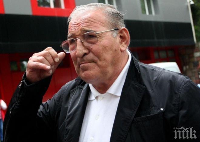 СКАНДАЛ! Колектори тормозят и рекетират Пената - наглеците преследвали легендарния треньор чак на стадиона