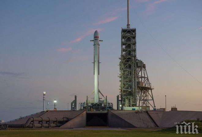 Ракетата Falcon 9 изведе в орбита телекомуникационен спътник