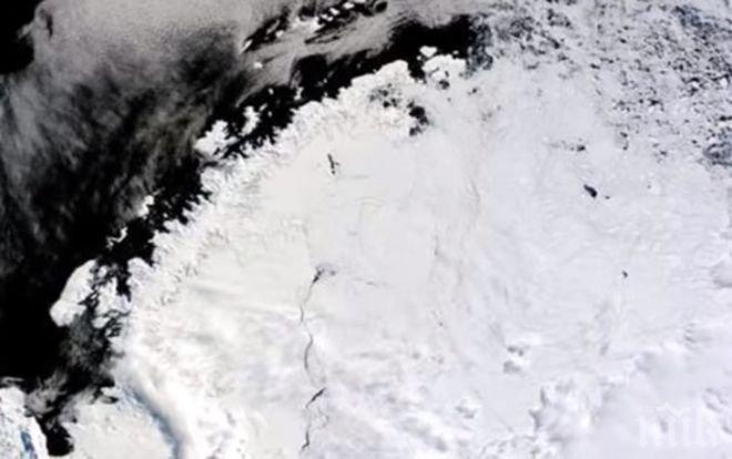 Учени откриха гигантска загадъчна дупка на Антарктида (ВИДЕО)