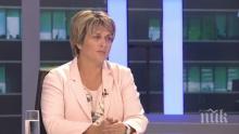 Весела Лечева: Последни сме по-доходи в ЕС, това е проблемът на хората