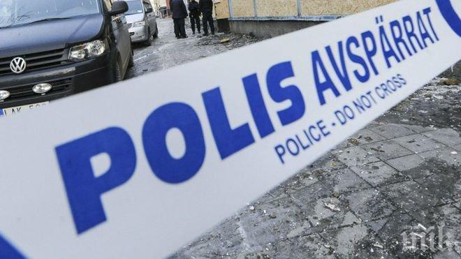 Шестима души са ранени след престрелка в Швеция