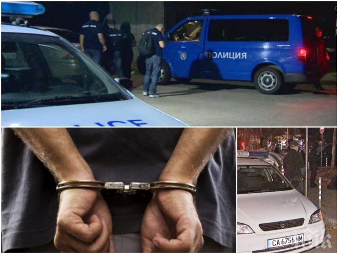 """НОВО 20! Полицейски началници са арестувани при акцията на МВР! Осигурявали чадър над наркодилъри от """"Студентски град"""""""