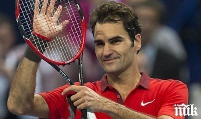 Исторически момент! Федерер с фамозен рекорд, а Рафа... (ВИДЕО)