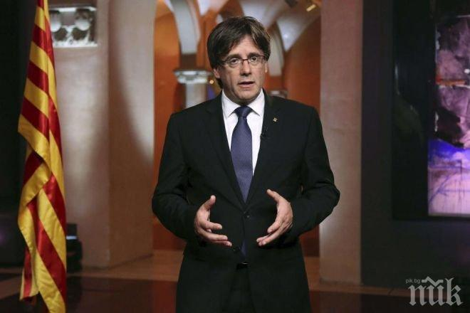 Каталунска организация призова Карлес Пучдемон да обяви независимост