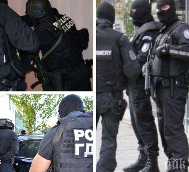 ЕКСКЛУЗИВНО! Синът на шеф в КАТ е арестуван при акцията срещу обекти на брата на депутата от БСП