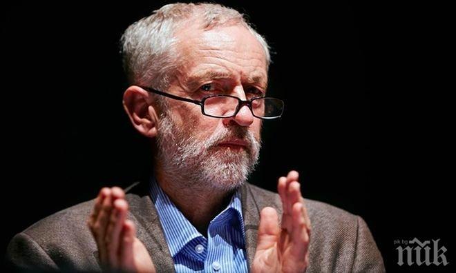 Джереми Корбин разкритикува правителството за липсата на напредък по Брекзит