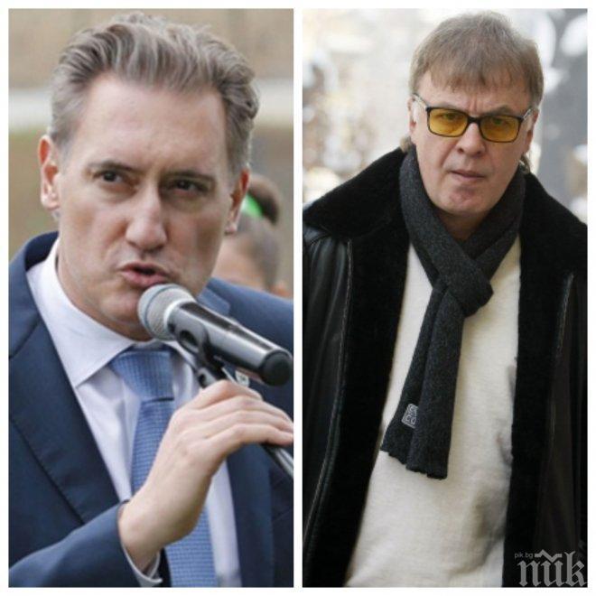 ЖЕСТОК СКАНДАЛ! Сираков направи Домусчиев на две стотинки! Вълка към бизнесмена: Кирчо, за следващите 20 години да си купиш първенството, пак ще сънуваш да ме достигнеш във футбола