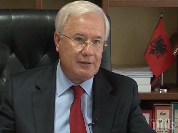 Бившият външен министър на Албания: Няма българско и македонско малцинство в страната ни
