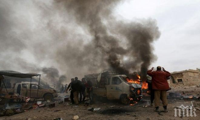 УЖАС! Жертвите на атентата в сирийската провинция Хасака вече са 50 души