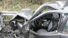 Кон причини адско меле на пътя София-Бургас