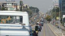 Тежък инцидент в София! Кола засече автобус на градския транспорт, има ранен пътник