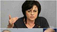 """ЗАДКУЛИСНА СХЕМА! Червената """"Галъп"""" пак подпира Корнелия Нинова в БСП с проучвания срещу властта"""