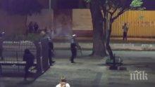 Протест и сблъсъци в Рио де Жанейро, десетки са ранени (ВИДЕО)