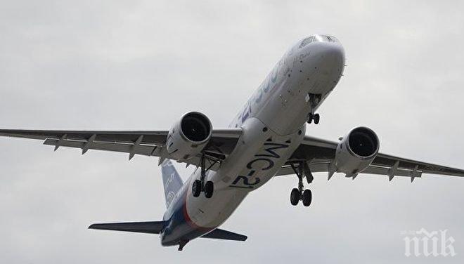 Стратегия! Русия готова да започне доставянето на самолети МС-21 на Мексико от 2021 година