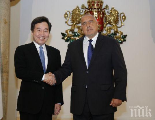 ГОРЕЩА НОВИНА! Инвестиции за милиони от Корея потичат към България! Премиерът Ли Нак-Йон с горещ коментар за управлението на Борисов и данъците у нас