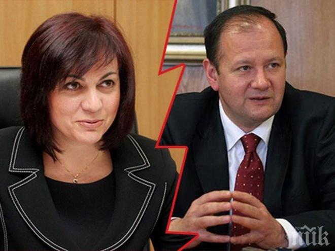 БОМБА В ЕФИР! Удар под кръста за Корнелия Нинова! Михаил Миков я обяви за диктатор милитарист в БСП