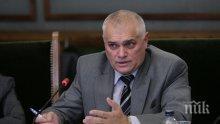 Вътрешният министър: Обилният дъжд е основната причина за ситуацията край Бургас