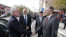 Димитър Главчев обсъди правата на българите в Сърбия с кмета на Димитровград