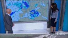 ИЗВЪНРЕДНО! Метеоролог успокои: Валежите в Бургас спряха, такава аномалия става веднъж на 10 години! Идва обаче сняг