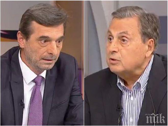 """Лидерът на КТ """"Подкрепа"""" Димитър Манолов призна: В безмислените сблъсъци с работодателите наливаме вода в сивия сектор"""