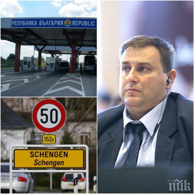 ИЗВЪНРЕДНО И САМО В ПИК! Евродепутатът Емил Радев разкри как ще гоним мигранти, колко строг ще е контролът на КПП-тата и как напредваме към Шенгенската система
