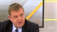 ПЪРВО В ПИК! Вицепремиерът Каракачанов с първи коментар за оставката на ген. Петров