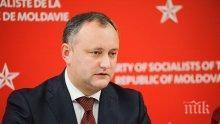 Лидерът на Молдова Игор Додон: Няма да сменим езика си на румънски