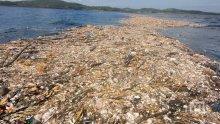 УЖАСЯВАЩО! Карибско море покрито с боклуци (ВИДЕО/СНИМКИ)