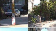 """РЕПОРТАЖ НА ПИК TV! Кошмар в един от най-скъпите столични квартали - стълбове с електричество никнат посред улиците в кв. """"Витоша"""", асфалтът и канализацията са мираж"""