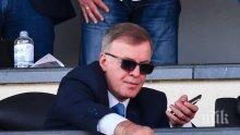 """Наско Сираков изригна: Кажете на Делио Роси, че """"Левски"""" значи атака!"""