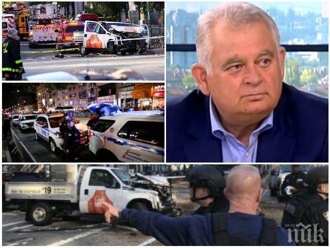 ЕКСКЛУЗИВНО В ПИК! Ген. Кирчо Киров с горещ анализ - ще има ли атентати и в Европа след кървавата баня в Ню Йорк и проповядва ли се радикален ислям у нас