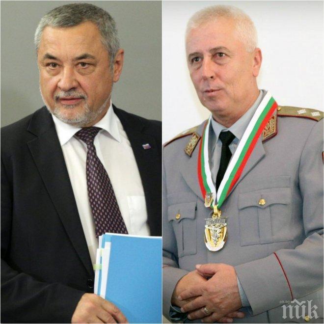 САМО В ПИК! Вицепремиерът Валери Симеонов скочи за оставката на ген. Петров: Засегна интересите на фармацевтичната мафия! Това разследване беше съшито медийно активно мероприятие, не трябваше да се оттегля