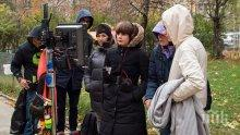 Снахата на Стоян Алексиев режисира филм за дрогата (СНИМКИ)