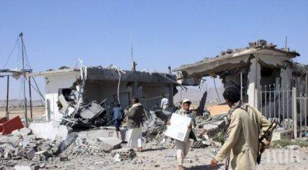 Терорист-камикадзе се е взривил в сградата на правителството на Йемен
