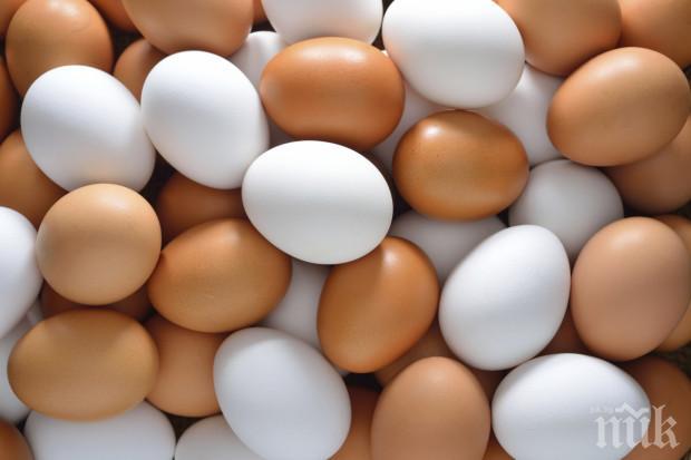 Яйцата станаха златни! Цената стигна 43 стотинки за бройка