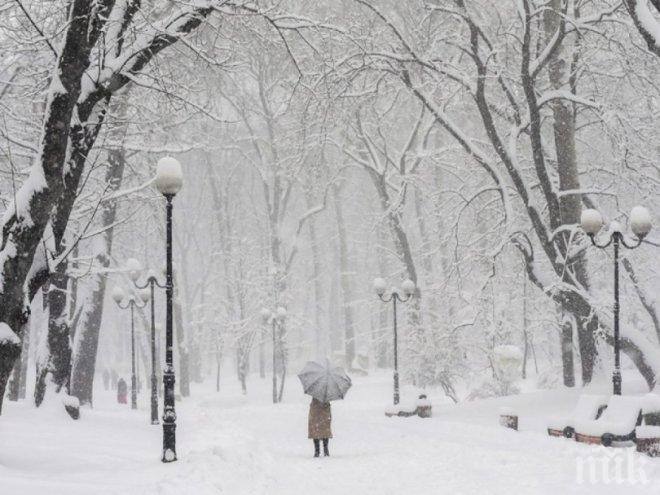 МРАЗОВИТА ПРОГНОЗА! Идат сняг и урагани, живакът пада до –8°! Оранжев код за бурен вятър стяга страната