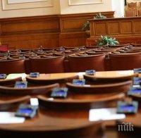 бюджетът догодина влиза пленарната зала