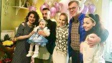 ЩАСТИЕ! Илиана Раева показа СНИМКИ от първия рожден ден на внучката си