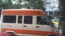 СТРАШНО! Мъж бере душа от катастрофата на пътя Пазарджик-Пловдив