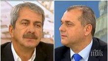 ЕКШЪН В ЕФИР! Искрен Веселинов и Евгений Михайлов се хванаха за гушите заради турското малцинство у нас