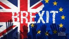 ЕС предупреди Великобритания: Имате по-малко от месец, за да направите отстъпки по преговорите за Брекзит