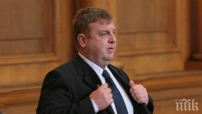 Каракачанов обяви сензационна новина по сделката за изтребителите