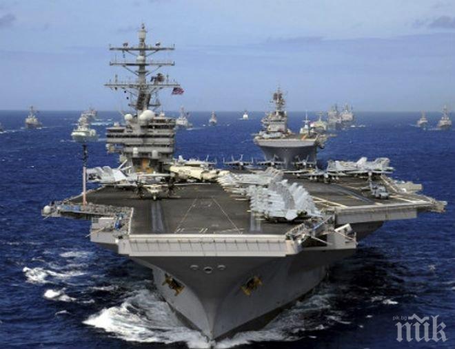 Южна Корея ще се включи във военните учения на американските самолетоносачи