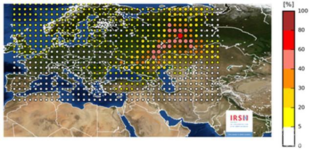 Франция алармира: Радиоактивен облак е преминал над Европа след инцидент в Русия или Казахстан