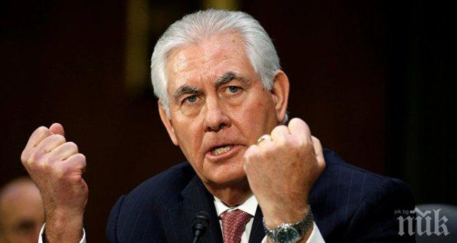 Рекс Тилърсън е обсъдил ситуацията в Саудитска Арабия с външния министър на страната