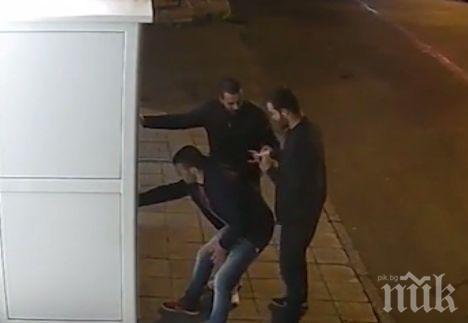 ПОЗНАВАТЕ ЛИ ГИ! Тези вандали са разбили автомат за кафе в Хасково