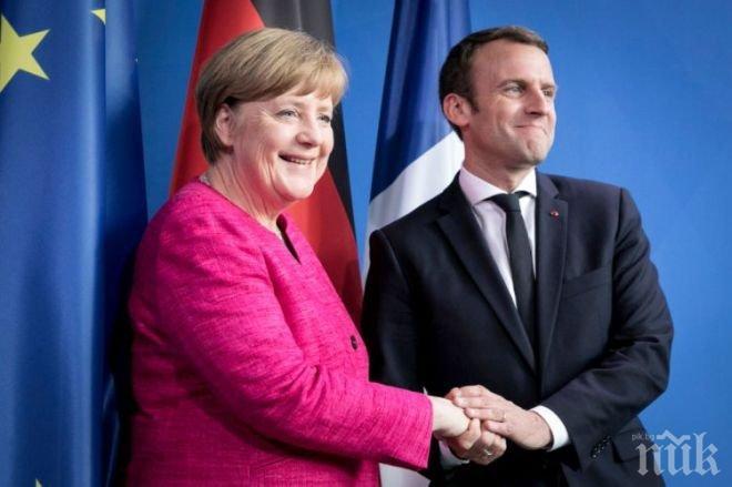 Франция и Германия искат Европа да бъде изградена наново